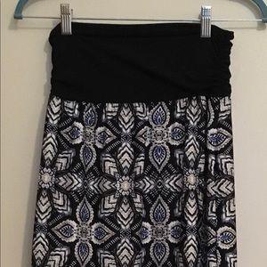 Apt 9 Print Maxi Skirt